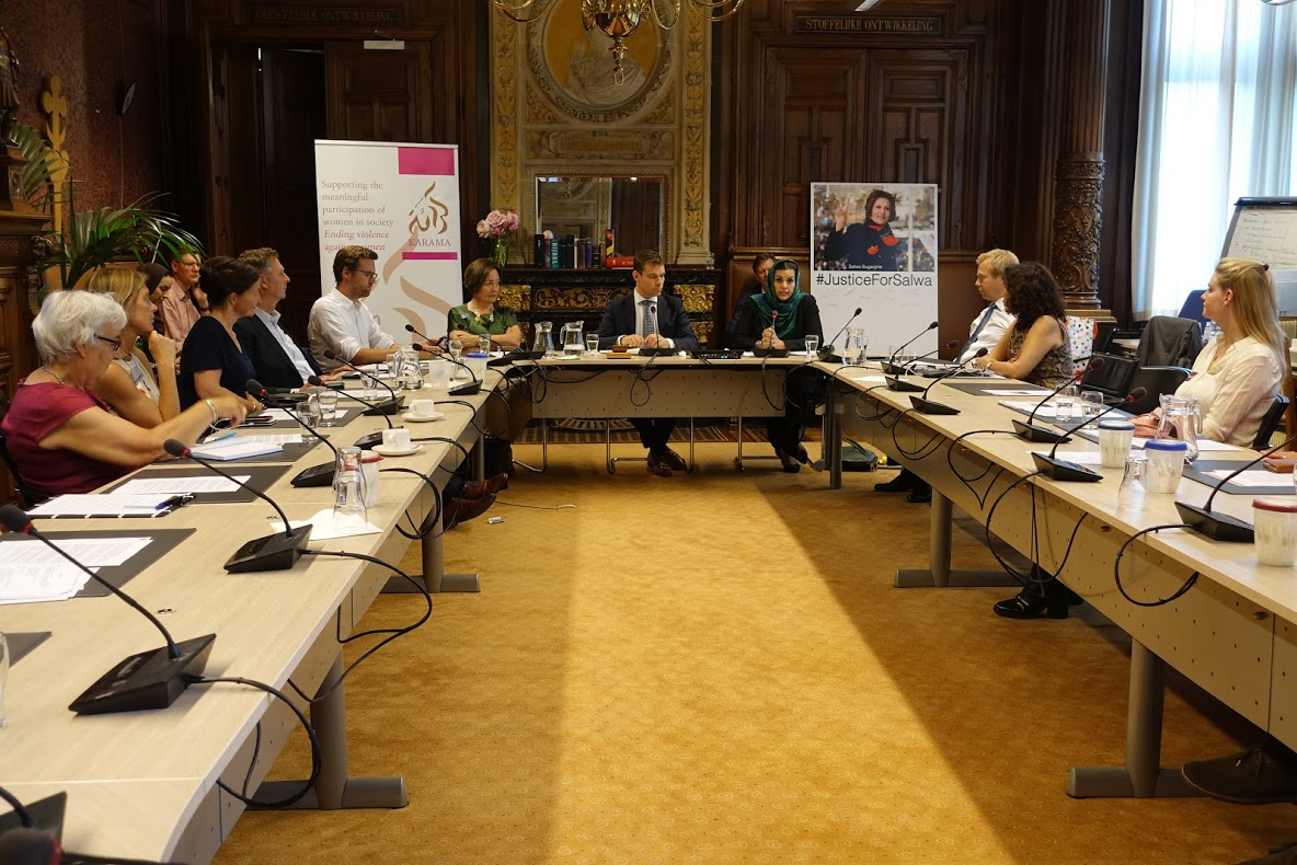 Press Release: Politicians and Activists Gather in the Dutch Parliament to Remember Libyan Human Rights Defender Salwa Bugaighis